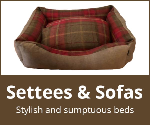 Dog settees and dog sofas