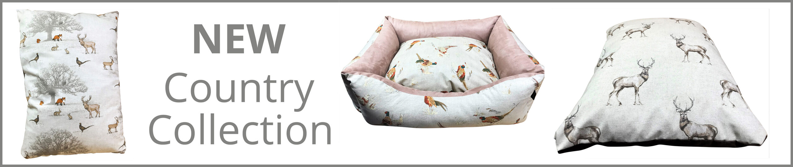 Country Dog Bed Collection
