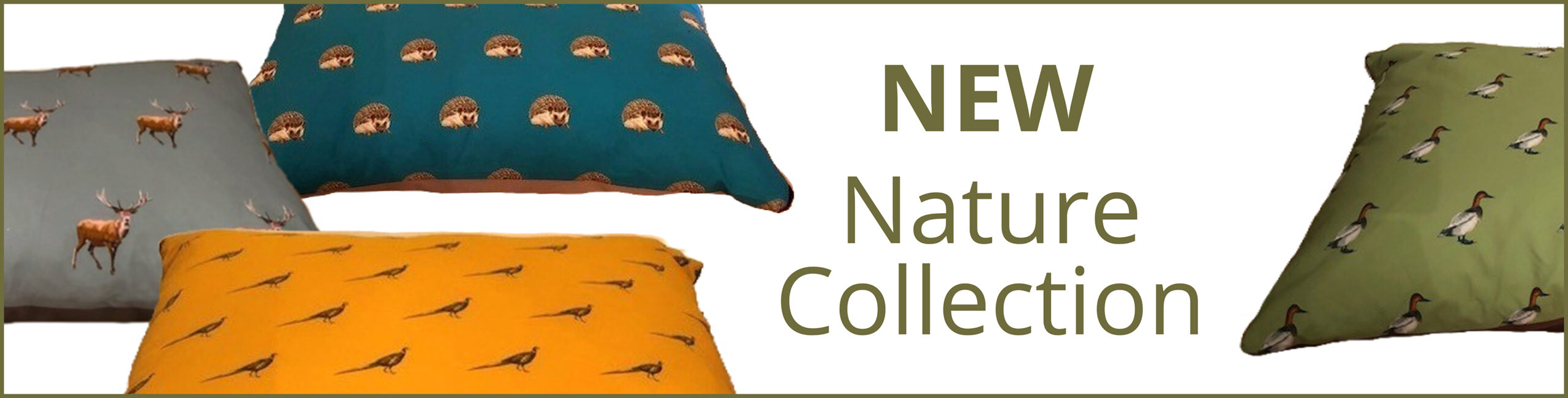 Nature Dog Bed Collection